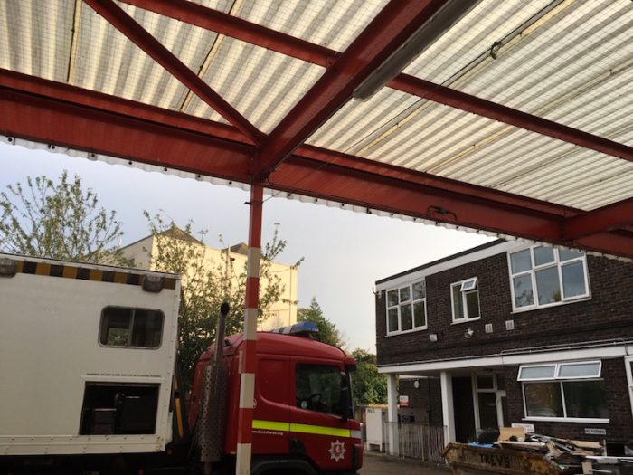 Bird control for Kent Fire Services