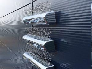 Bird spike installation in Kent for Peugeot