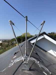 Kent Bird Control Services Post and wire on ridges