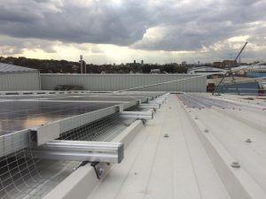 Solar panel protection for commercial premises in London